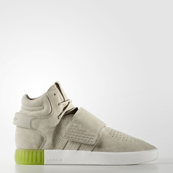 New Adidas Tubular Invader Strap Men's Sneakers NWT